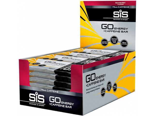 SiS Go - Nutrition sport - Red Berry 30 x 40g Multicolore
